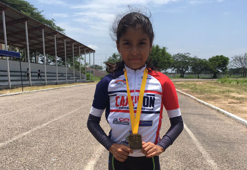 Shekinah Dehesa Morales continúa su preparación en ciclismo | El Imparcial de Oaxaca