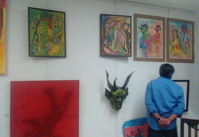 Inauguran sala de exposición  de arte contemporáneo en Huajuapan