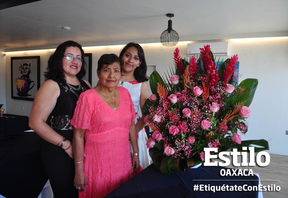 Festejo en honor de Alicia Rita