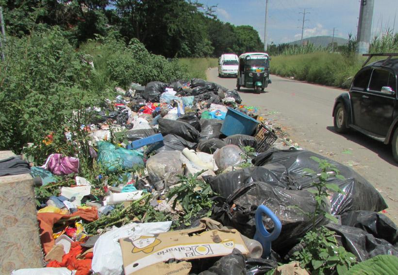 Denuncian otro tiradero de basura a cielo abierto en Oaxaca | El Imparcial de Oaxaca
