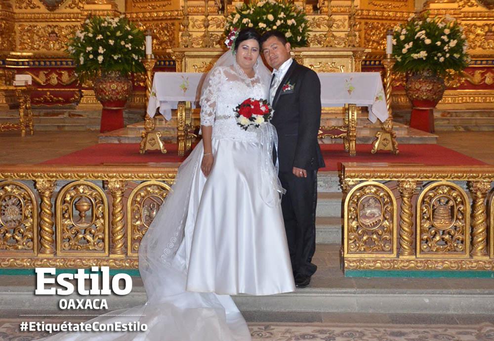 José Carlos y Juana se dan el sí