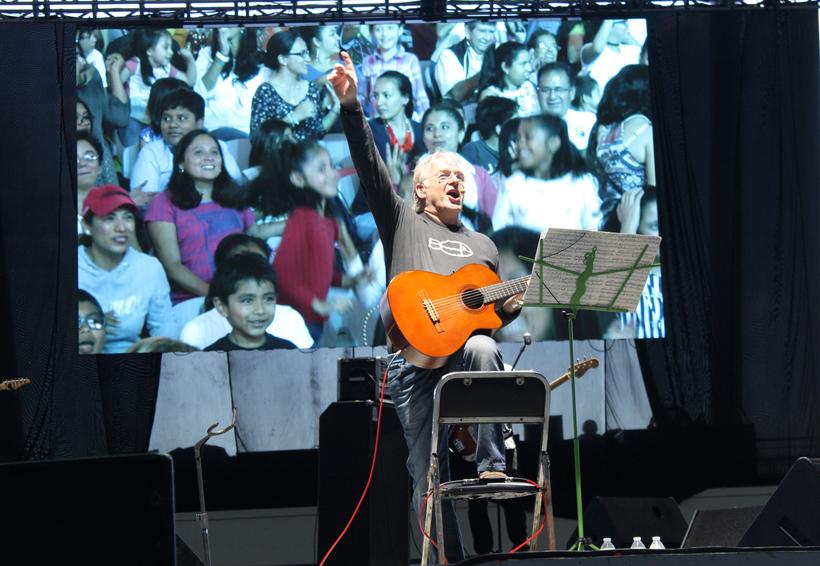Hoy gran concierto interactivo para niños en el Guelaguetza