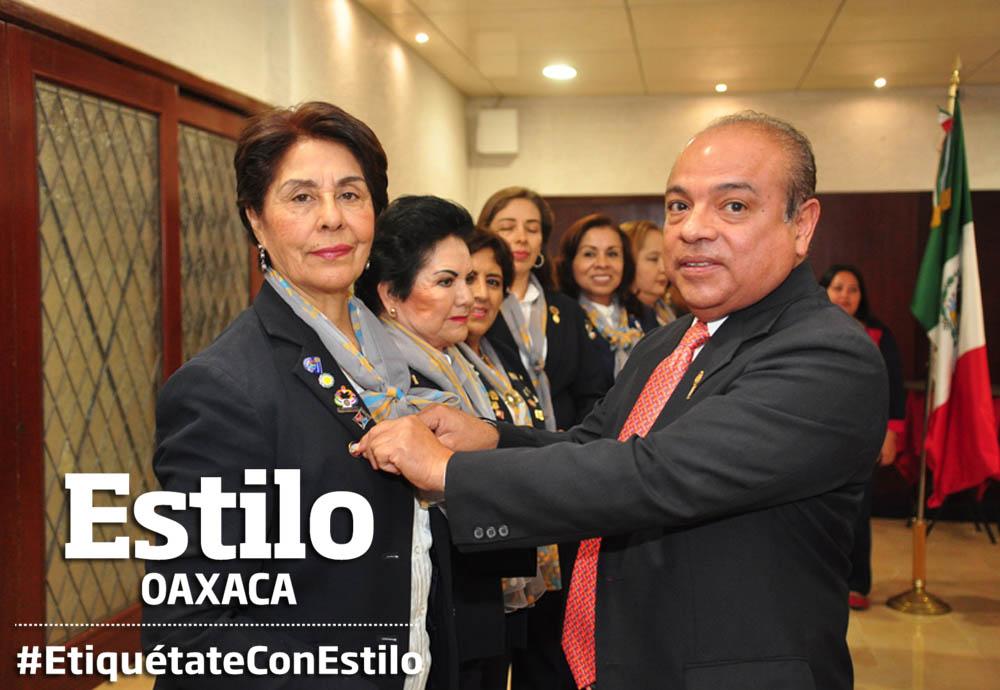 Club Rotario Guelaguetza presenta su nueva mesa directiva