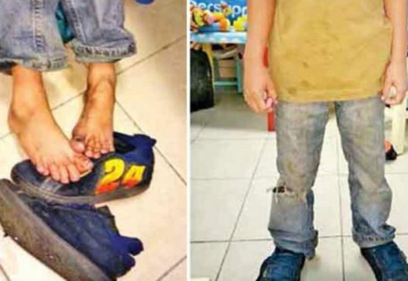 Rescatan a dos menores abandonados en la Ciudad de México