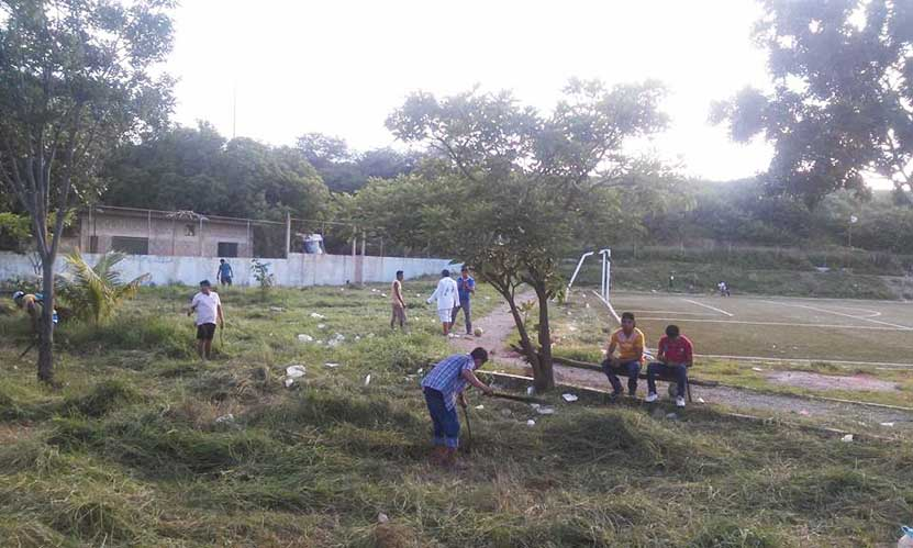 Conservan los  espacios deportivos Tehuantepec | El Imparcial de Oaxaca