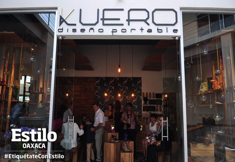 Kuero, diseño portable  abre sus puertas