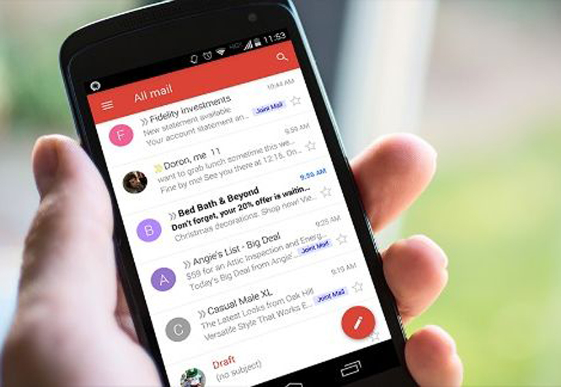 Gmail implementa respuestas inteligentes