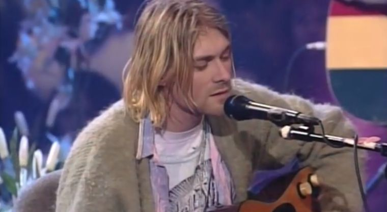 Publican video inédito de Kurt Cobain