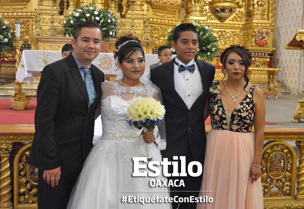 Adrián y Éricka se  juran amor eterno