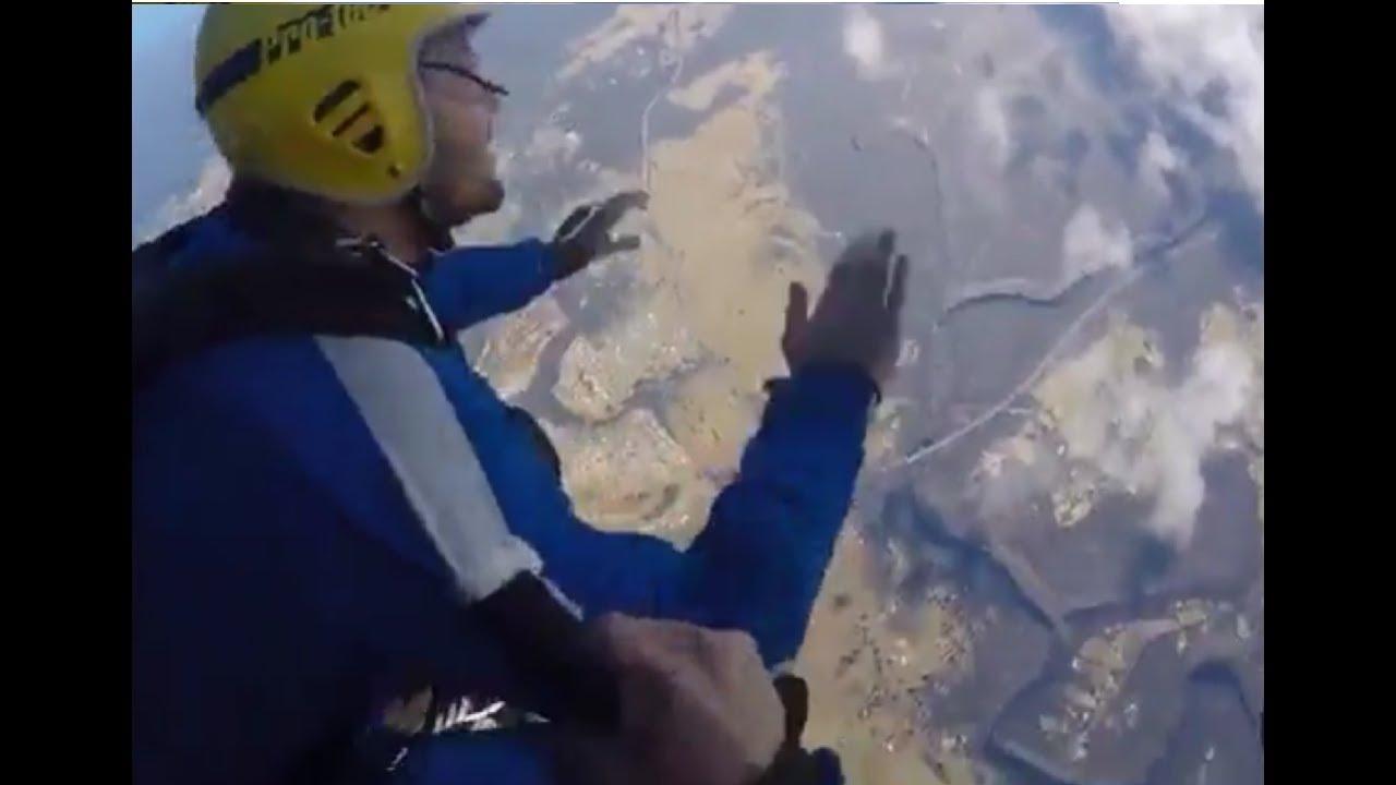 Los últimos momentos de vida de un turista tras saltar en paracaídas | El Imparcial de Oaxaca