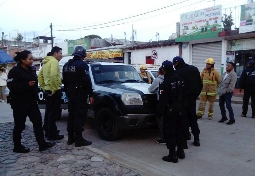 Alerta en Huajuapan, amenazaba con matarse