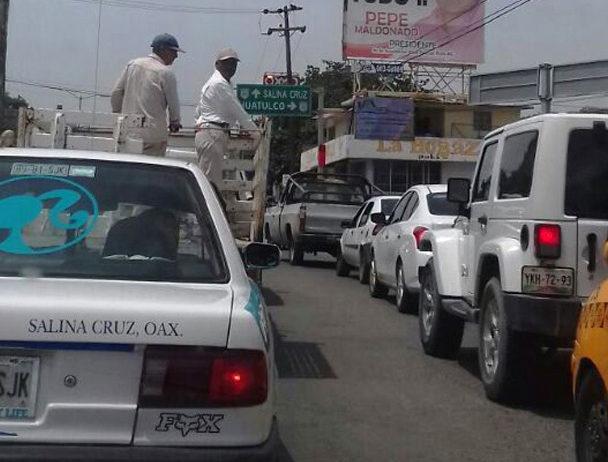 Bajan robos de autos en Salina Cruz