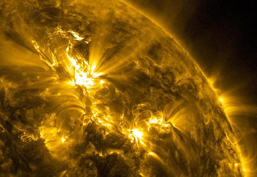 Cómo se ve el campo magnético del Sol   El Imparcial de Oaxaca