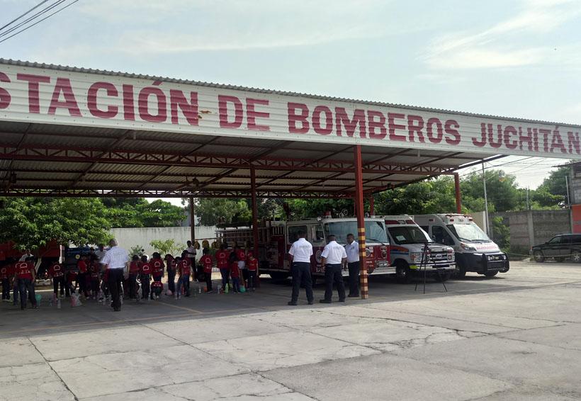 """En el Istmo inicia taller """"Mini Bomberitos en Acción"""""""