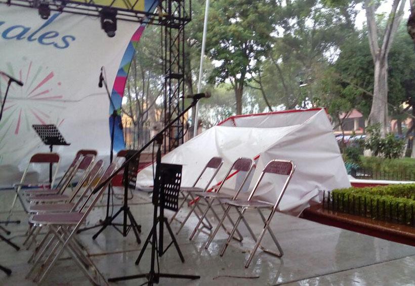 En Huajuapan cancelan eventos por inundación