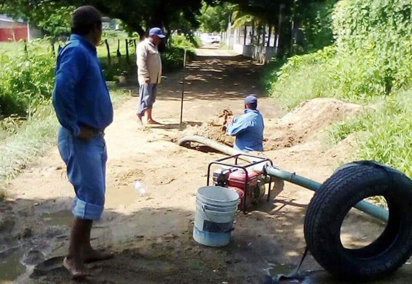Dotan de agua a familias del Istmo ante ola de calor