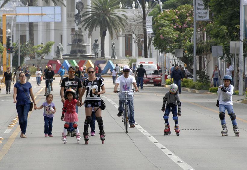 Vuelve Vía recreativa con tema de la Guelaguetza | El Imparcial de Oaxaca