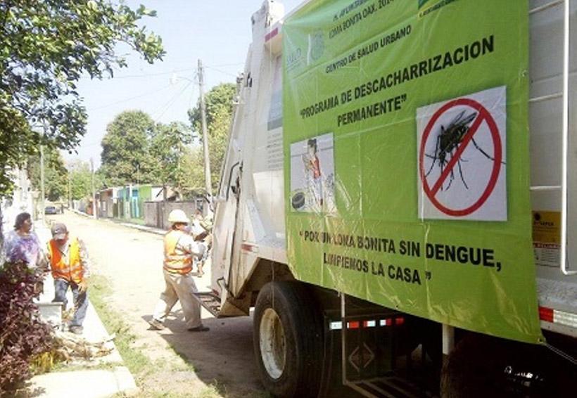 Sólo tres casos de dengue  y uno de Zika reportan el la Cuenca