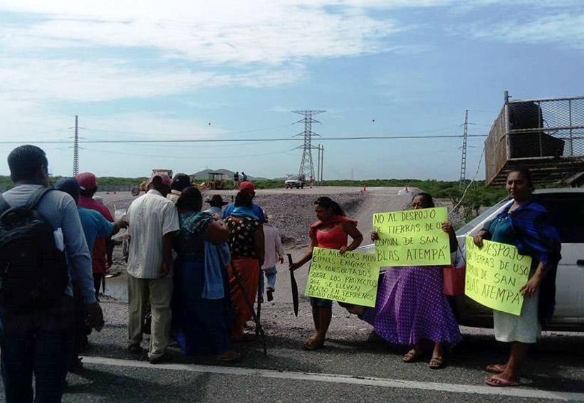 Pobladores del Istmo piden frenar  subestación eléctrica