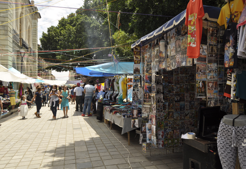 Piden terminar con comercio informal en Oaxaca