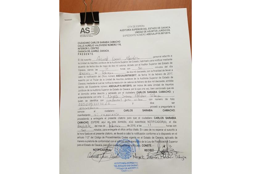Absuelven a Carlos Sarabia, expresidente  de Pinotepa Nacional