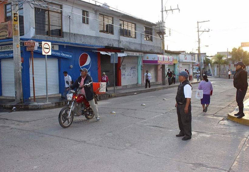 Concientizan sobre el uso de las vialidades en Huajuapan