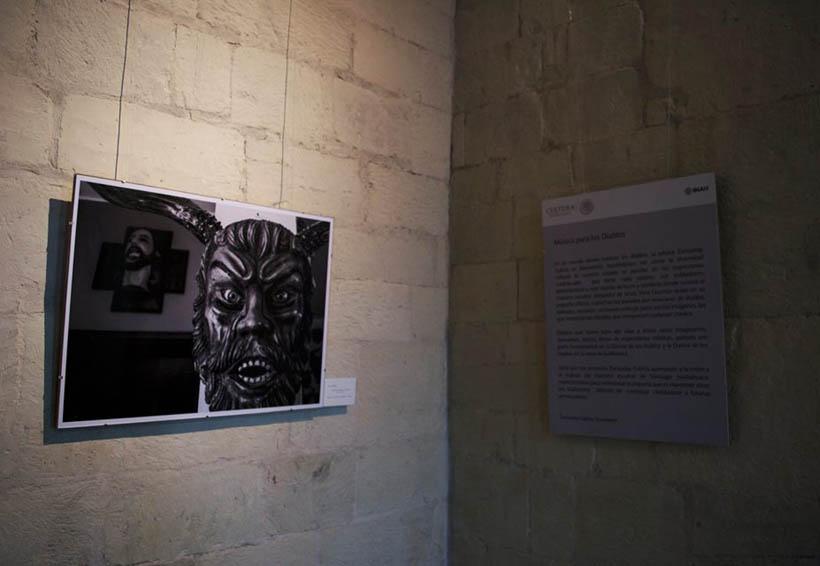 Arte en las máscaras de diablo de la Mixteca