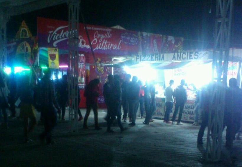 En Huajuapan denuncian robos en el área techada del recinto ferial