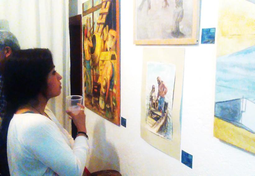 Reflejan paisajes de la Mixteca en exposición
