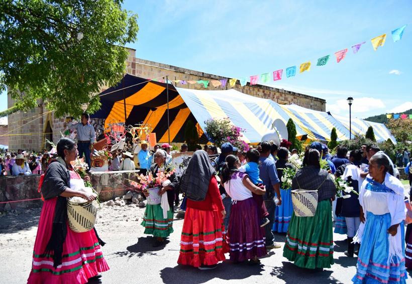Esperan resto del año próspero y unido en Magdalena Peñasco