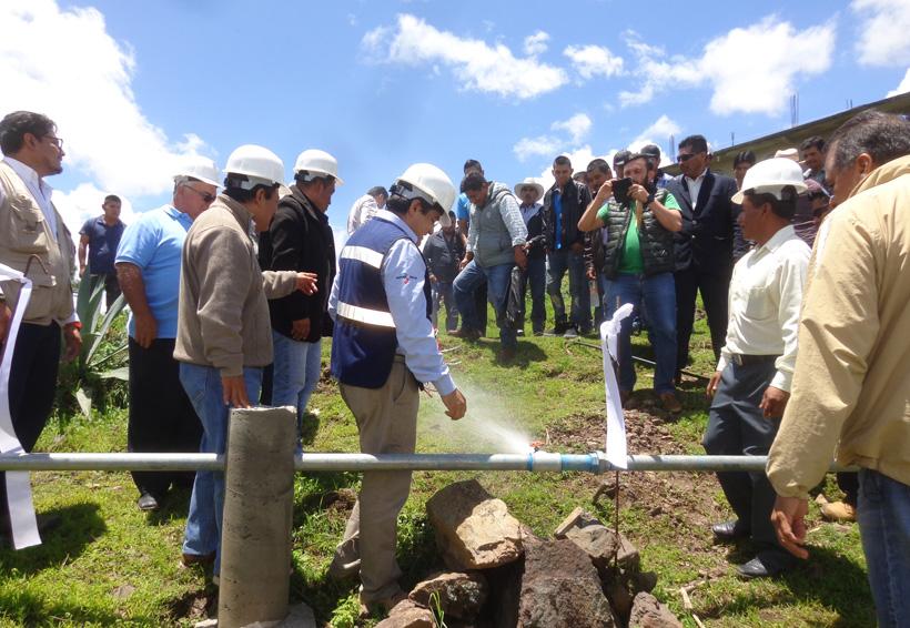 Logra San Juan Ñumí agua potable para su habitantes