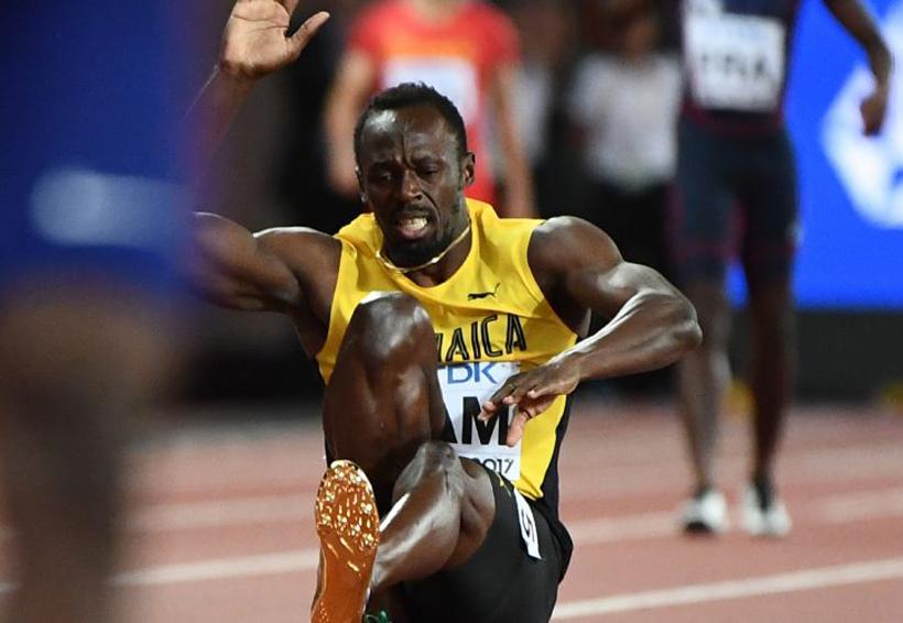 Usain Bolt se despide del atletismo sin terminar su última carrera | El Imparcial de Oaxaca