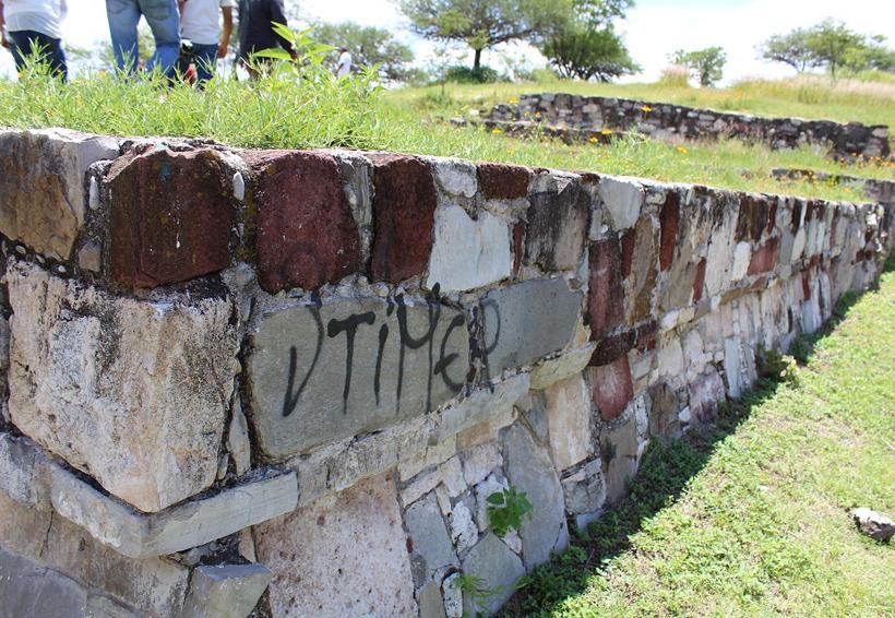 Recuperarán zonas arqueológicas de Huajuapan de León, Oaxaca