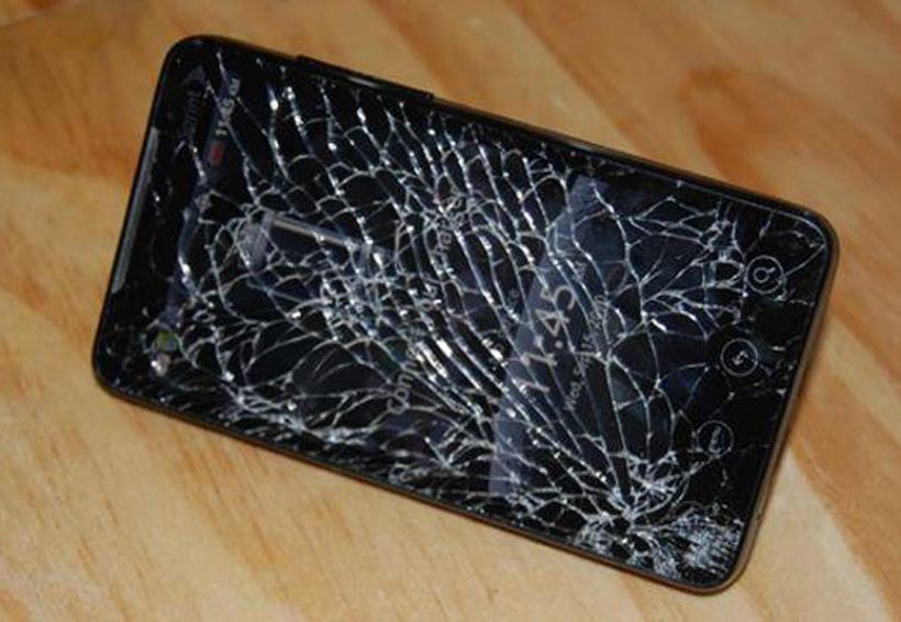 Motorola patenta una pantalla que se repara sola