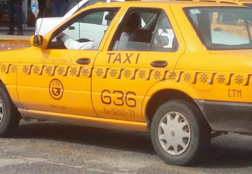 Evidencian a líder taxista en el Istmo