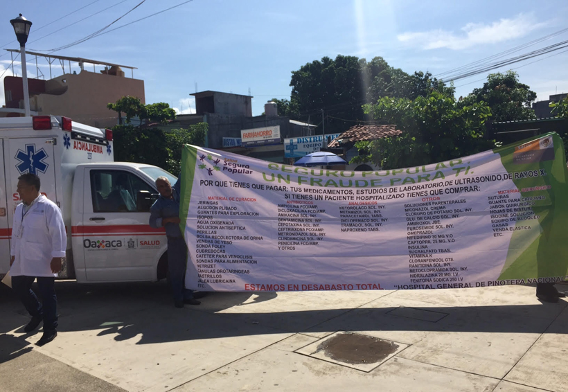Acusan anomalías en hospital regional de la Costa