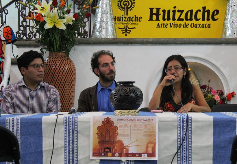 Turistas, los más interesados  en la tradición organística   El Imparcial de Oaxaca