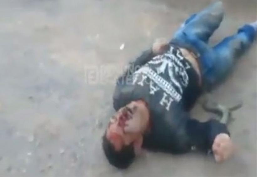 Video: Mata a hombre en asalto y pasajeros le dan tremenda golpiza   El Imparcial de Oaxaca