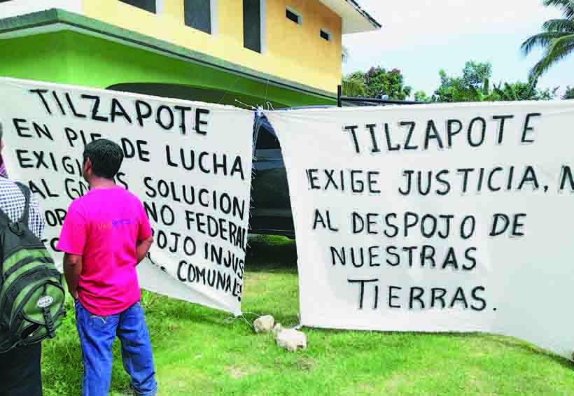 Temen desalojo del núcleo rural Tilzapote