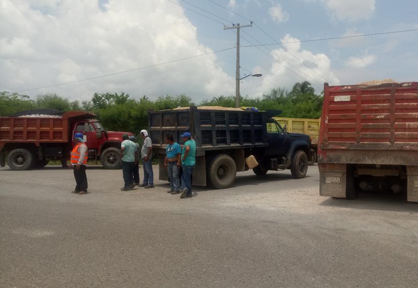 Paran obra del parque eólico Biniza en Juchitán