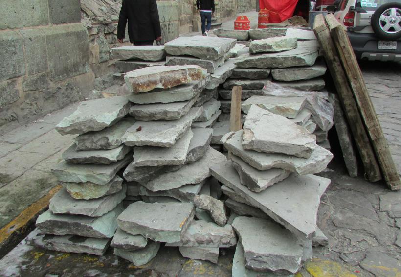 Rehabilitan banquetas en calles de Oaxaca | El Imparcial de Oaxaca