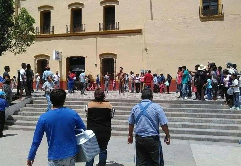 Exhiben a supuesto asaltante en Tlaxiaco, Oaxaca | El Imparcial de Oaxaca
