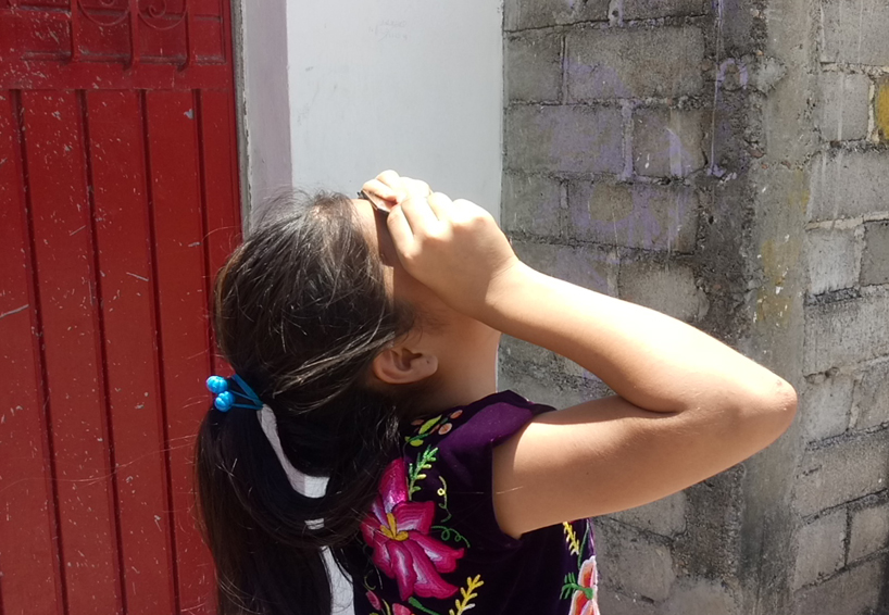 Hacen ritual zapoteca en Juchitán por  eclipse solar