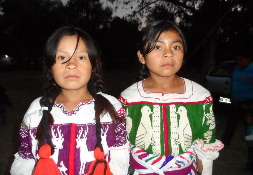 Blusa del venado en Tijaltepec, Oaxaca