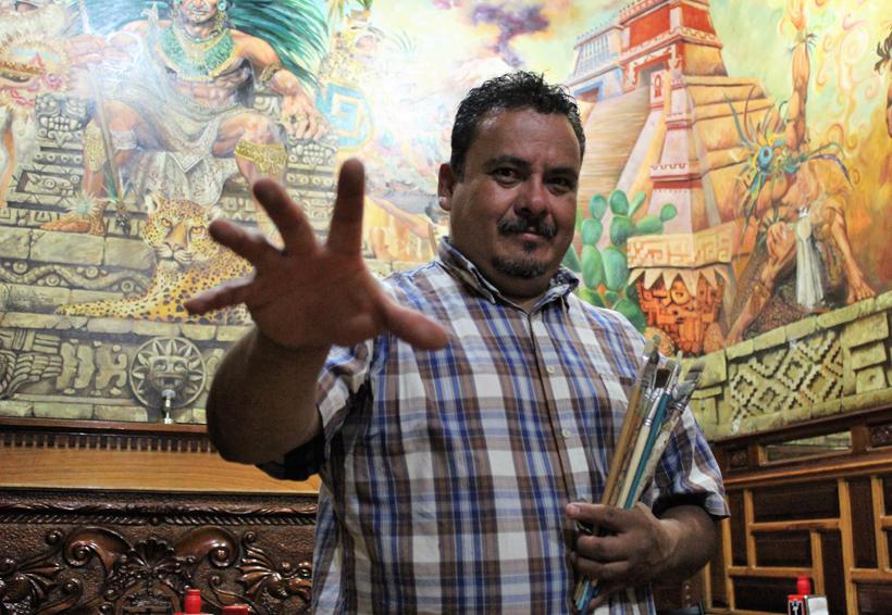 Cruz Alejandro llevará un pedacito de Oaxaca a París