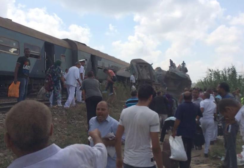 Choque de trenes en Egipto deja al menos 36 muertos | El Imparcial de Oaxaca