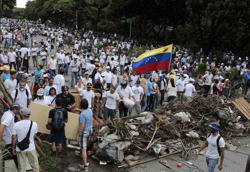 Movilización de oposición venezolana contra la Constituyente será este viernes | El Imparcial de Oaxaca