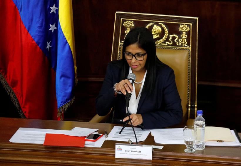 Delcy Rodríguez la mujer fuerte de Venezuela | El Imparcial de Oaxaca