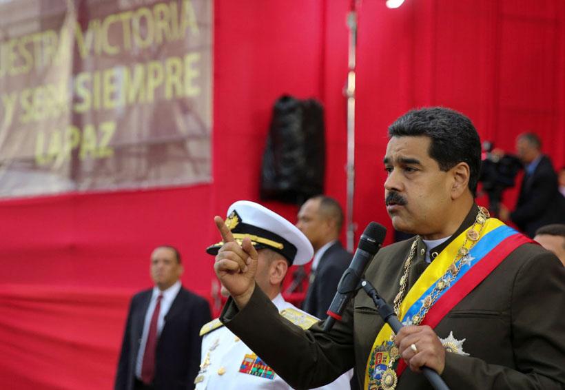 Maduro cargó contra Macri