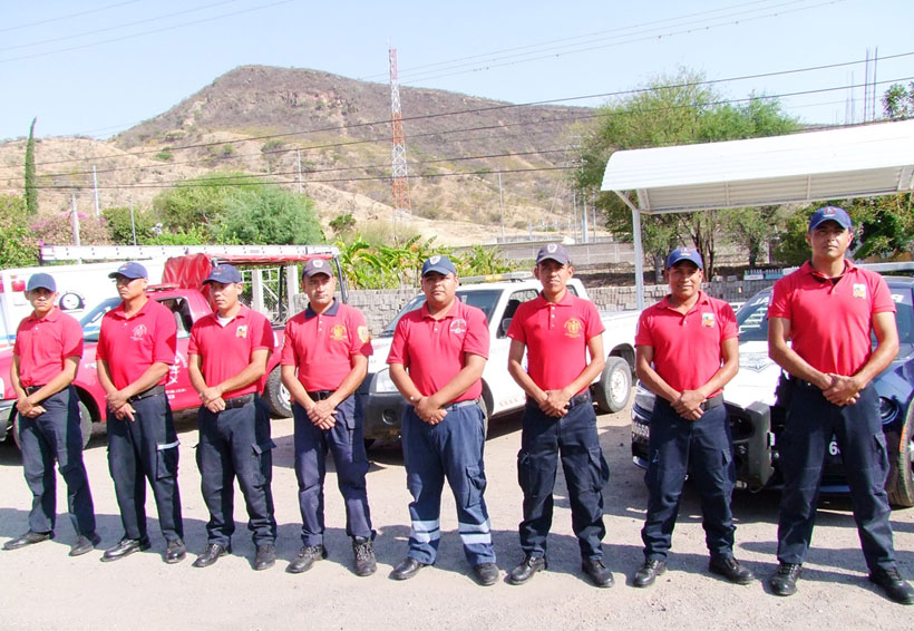 Bomberos de Huajuapan, Oaxaca;  nueve años de ardua labor